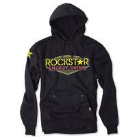 Factory Effex Rockstar Energy Vegas Black Pullover Sweatshirt Hoodie Adult