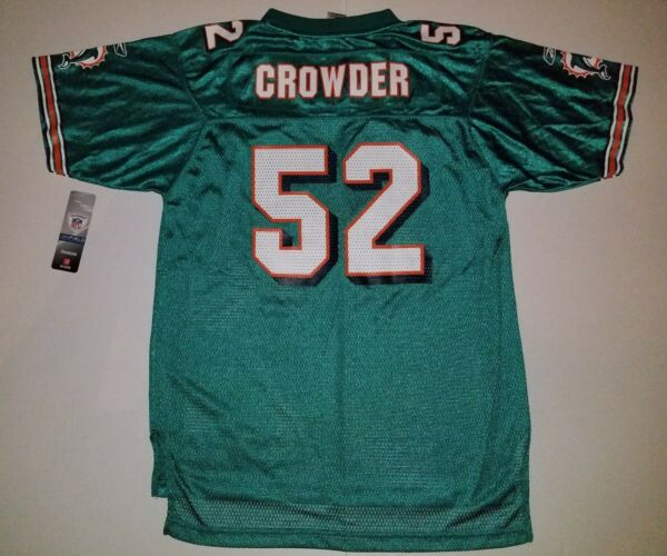 #15 Aqua Green NFL Miami Dolphins Youth Jersey (Large)