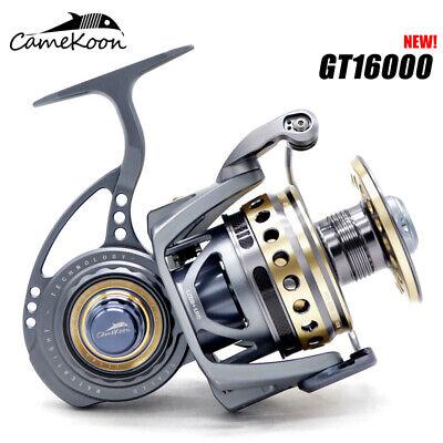 CAMEKOON 2000-5000 Spinning Jigging Reel All Metal 33LB Drag Power for Saltwater