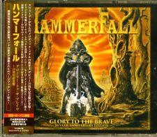 2017 Japan 2 CD DVD Hammerfall Glory to The Brave 20 Year Anniversary