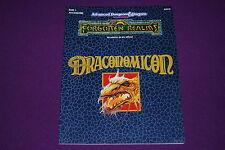 AD&D JDR Jeu de Role - Royaumes Oubliés : Draconomicon (ROR1)