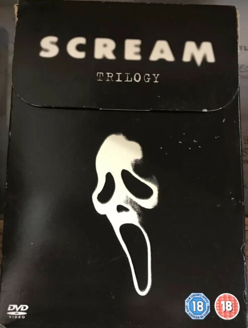 Scream Trilogy (DVD, 2008, 3-Disc Set, Box Set)