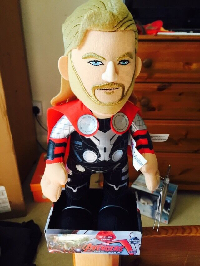 Marvel Thor Plush Soft Toy Brand New