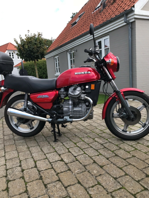 Honda, CX 500, 500 ccm, 1980, 5000 km, Rød, m.afgift, For…