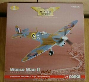 Corgi-AA31914-Spitfire-MkVC-Sgt-George-Beurling-1942-Ltd-Edition-No-0003-of-2950