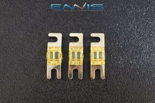 60 AMP MINI ANL FUSES GOLD PLATED INLINE AFC AFS BLADE AUTO HOLDER MANL60 3