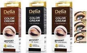 Delia Henna Eyebrow Color Cream Advanced Creamy Eyebrow