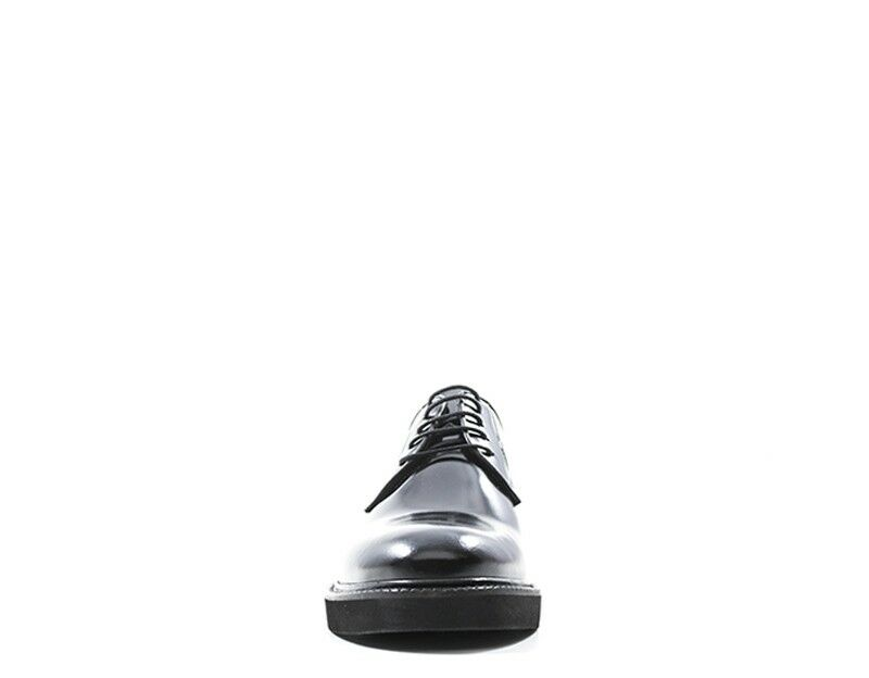 Schuhe HOLE B Mann NERO Naturleder AM001NE