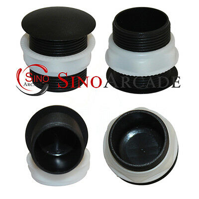 10 PCS 28MM arcade push button cover hole plug Screw In Type for JAMMA MAME