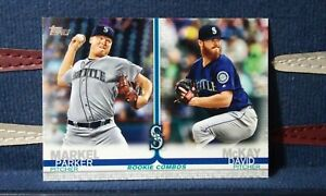 2019-Topps-Update-Series-US53-Markel-amp-McKay-RC-Rookie-Combos-Seattle-Mariners