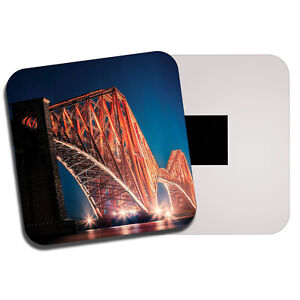 Forth-Rail-Bridge-Fridge-Magnet-Edinburgh-Scotland-UK-Railway-Cool-Gift-13148