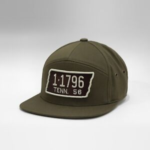 Gasoline Caps™ Tennessee License Plate Baseball Cap London Green Hat New