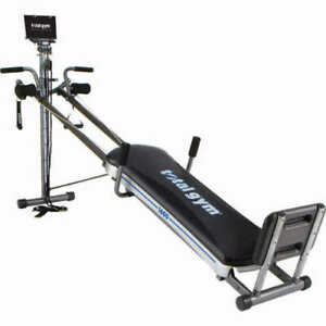 Total gym 1600 home workout exercise fitness machine 60 different