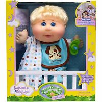 Cabbage Patch Kids Naptime Babies Doll, Blonde Hair Blue Eye Baby Boy