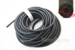 10-Meters-Black-Rubber-Latex-Tube-Bungee-Outdoor-Hunting-Replacement-Tubing-2050