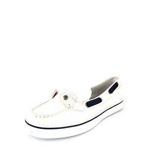 Cassé 5 Top Blanc Taille Femme Tissu Sperry En M Pour Chaussures Bateau sider 6 4wgqx60