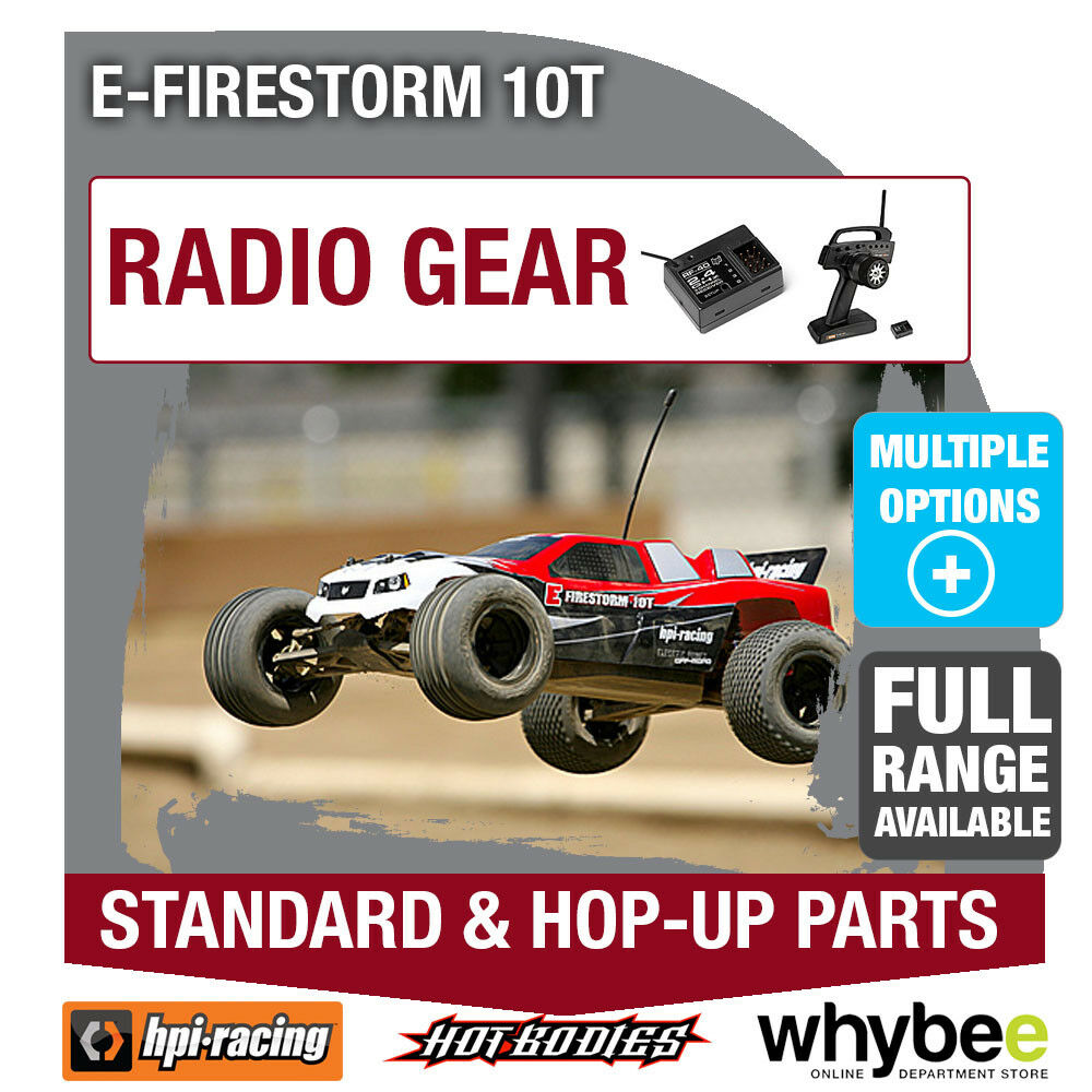 HPI E-FIRESTORM 10T [Radio [Radio [Radio Gear] Genuine HPi Racing R C Standard & Hop-Up Parts  5960ee