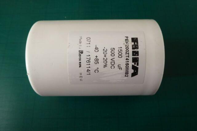 Rifa 1500uF 500V electrolytic capacitor long life valve tube amplifier inverter