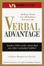 Verbal Advantage : Ten Easy Steps to a Powerful Vocabulary by Charles Harrington Elster (2000, UK-Paperback, Large Type)