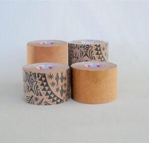 Posture-Pals-Dynamic-Tape-Biomechanical-Tape-Tattoo-Print-Black-amp-Beige