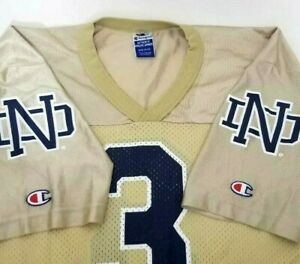 Vtg-Champion-Notre-Dame-Fighting-Irish-Football-Jersey-Size-40-M-Joe-Montana-USA
