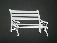BENCH Die Cut EMBELIS YOUR CHOICE OF ANY COLOR Stampin Up for cards & scrapbook