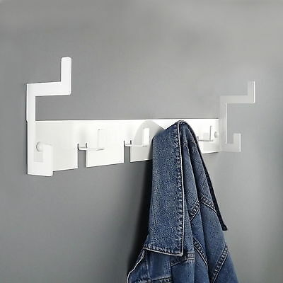 The Mayfair Coat Rack Hook in WHITE by THE METAL HOUSE