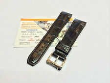 Cinturino Raymond Weil 5590 pelle nero stampa cocco ansa 20mm