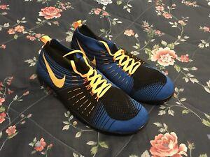 49f1f036f8e8 Nike Free Hyperfeel Trainer Sz 14 Men s Blue Black Yellow