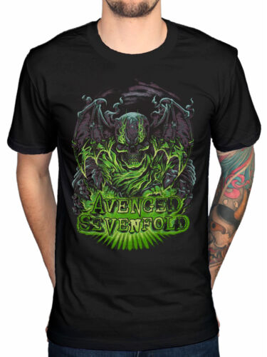 Official Avenged Sevenfold Dare To Die T-Shirt Nightmare Hail To The King Evil
