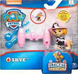 SKYE Launch Water Cannons FIRE ULTIMATE RESCUE 3+ New Nickelodeon PAW PATROL