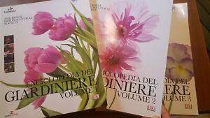 Brickell ENCICLOPEDIA DEL GIARDINIERE 3 Volumi COMPLETA Ed.Cairo (2012) Gardenia