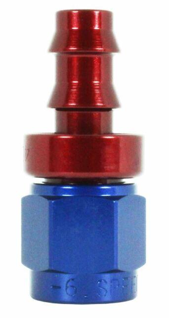 SPEEDFLOW 400 SERIES -10 STRAIGHT PUSH LOCK HOSE END FITTING P/N 401-10