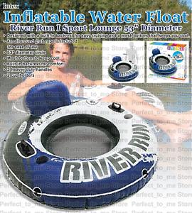 Inflatable-Water-Float-River-Float-Tubes-Mesh-Bottom-Pool-Swim-Tube-53-034-INTEX