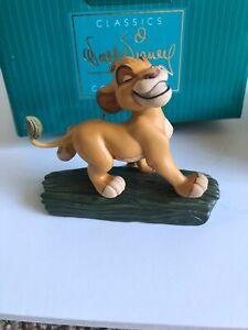 SIMBA Ornament The Lion King Hakuna Matata Walt Disney Classics Collection COA