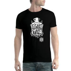 Moonshine Illegal Whisky Men T-shirt XS-5XL New