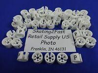 50 Mini Hanger Markers - Petite (p) Retail Store Supply Hanger Garment Hanger