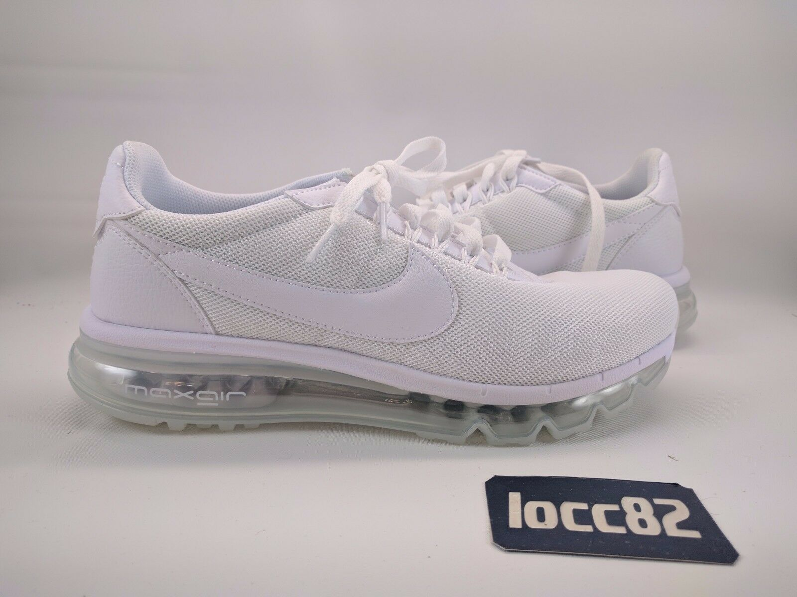 Nike Women Air Max LD-Zero sz 9 [896495 100] white summer