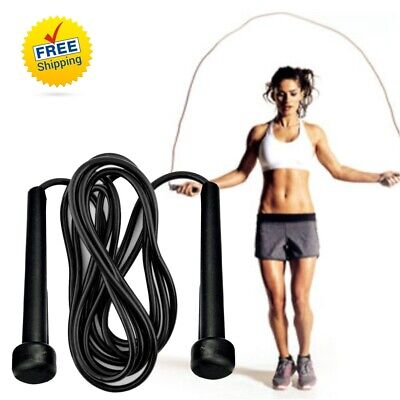Skipping Rope Nylon Adjustable Jump Boxing Fitness Speed Rope Training Cross Fit