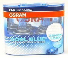 Osram H4 CoolBlue INTENSE Cool Blue + 30% mehr Licht 4200 K 2St. 64193CBL +TOP+