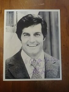 Peter Lupus Actor Mission Impossible Hercules Autograph Signed 8x10 photograph.