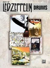 Best Of LED ZEPPELIN Drums music book by Warner Brothers Publications