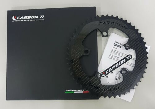 33T-50T Carbon-Ti X-AXS X-Carboring BCD110x5 Road Inner//Outer Chainring