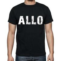 Allo Tshirt, Homme Tshirt, Col Rond Homme T-shirt, Noir, Cadeau