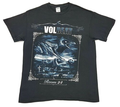 Volbeat Room 24 2014 US Tour Tee Black Size L Men… - image 1