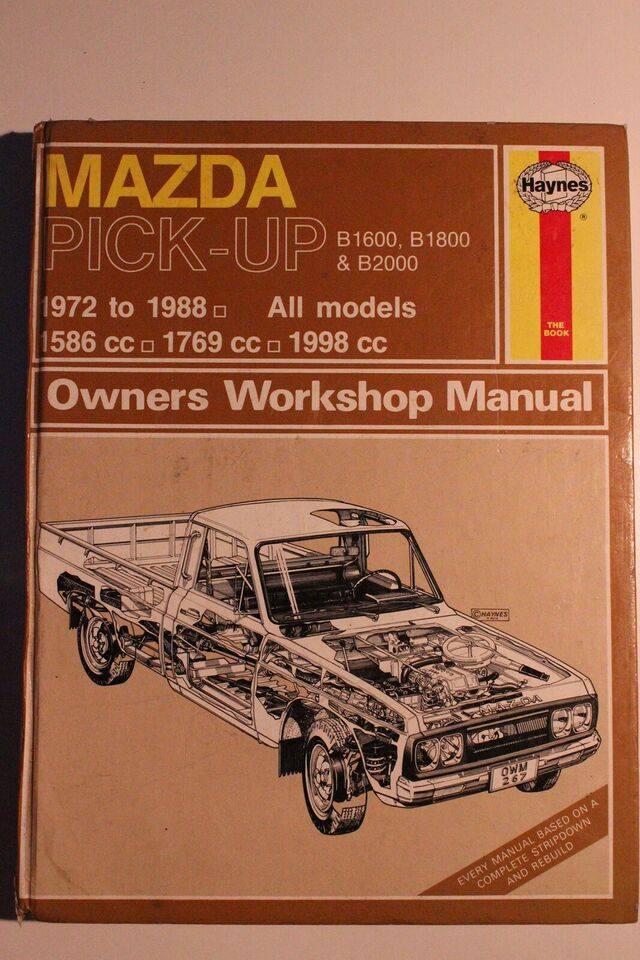 Reperations håndbog, Haynes Mazda Pick-up