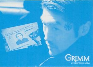 Grimm Season 1 Cyan Printed Parallel Base Card #68