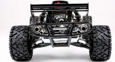 1 5 Metal Tube Rear Bumper Fits Hpi Baja 5b 5t 5sc Fits Dual Exhaust Tuned Pipe 782301160446 Ebay