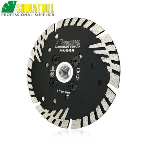 1pc Multi-purpose Cutting Disc Marble Granite Diamond Turbo Blade 5//8-11 Flange