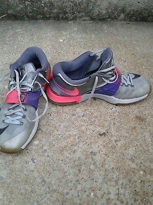 sale retailer f1f33 53b75 Nike Air Zoom Kevin Durant KD VII 7 AS All Star Pure Platinum Black v 742548